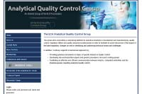 Analytical Quality Control Group Website